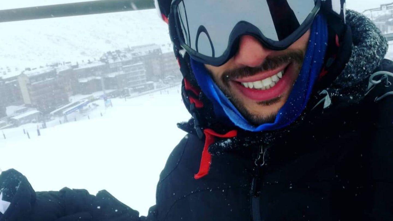 Di Rocca, en las pistas de esquí de Andorra.