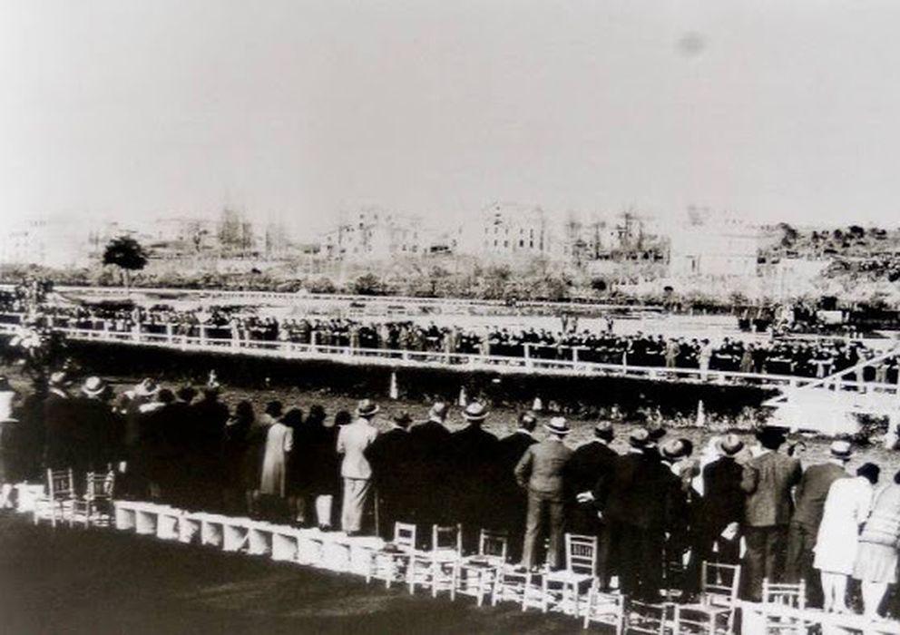 Foto: Imagen del antiguo hipódromo de la Castella (FOTO: http://hipodromosycaballos.blogspot.com)