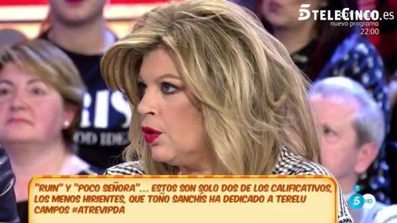 Terelu responde a las duras declaraciones de Toño Sanchís