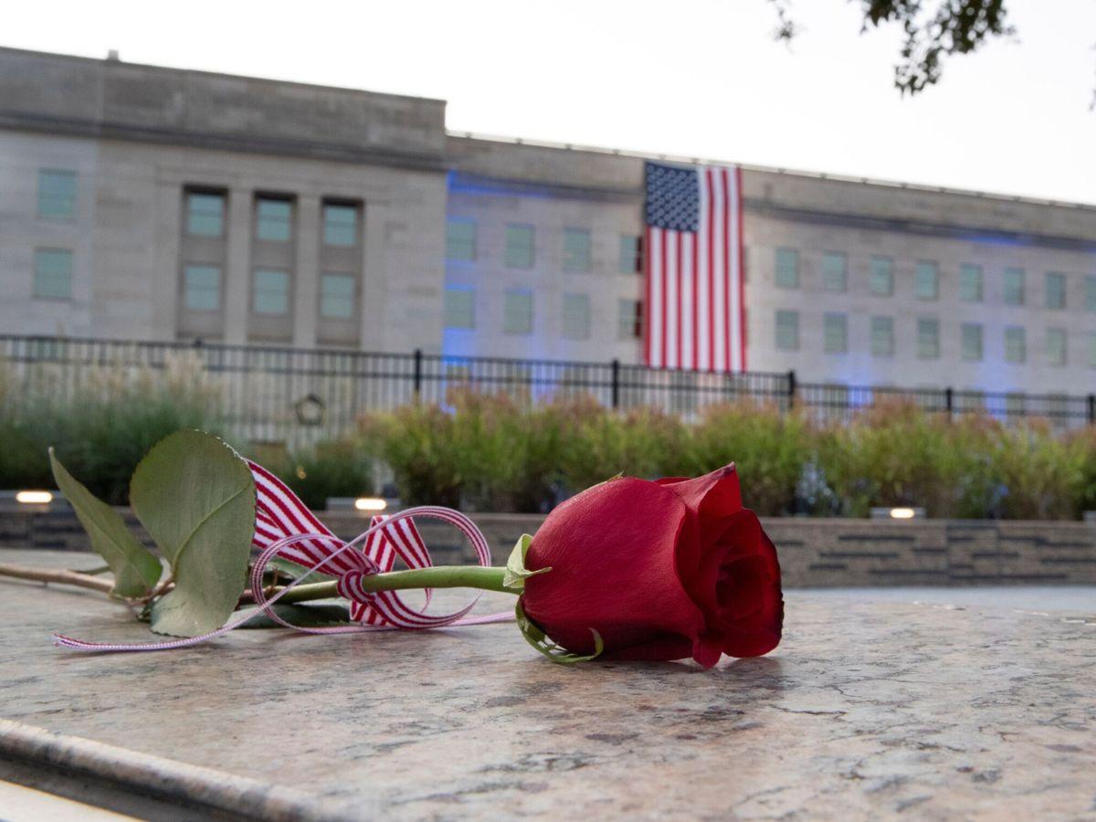 Foto: 20.º aniversario del atentado terrorista del 11-S en el Pentágono, en Arlington (EFE)