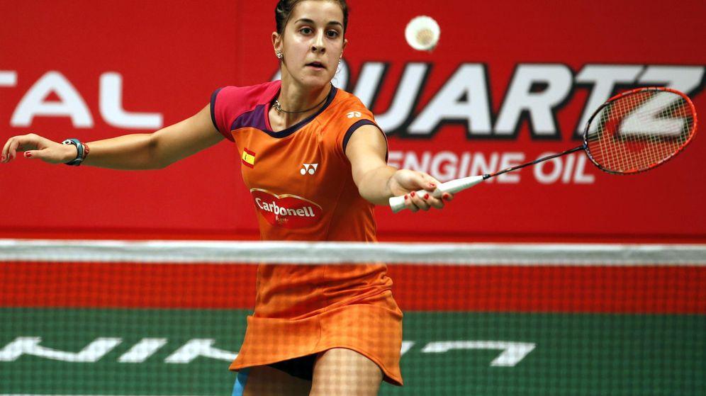 Foto: Carolina Marín se mete en las semifinales del Mundial de bádminton.