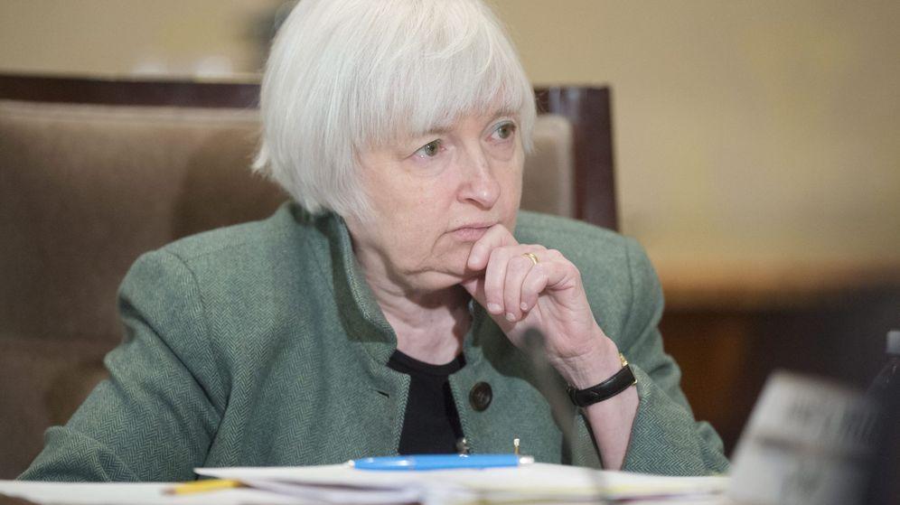 Foto: La presidenta de la Reserva Federal, Janet Yellen./EFE