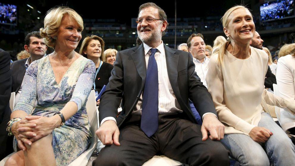 Rajoy 'toma' el PP de Madrid con Cifuentes al frente de la gestora