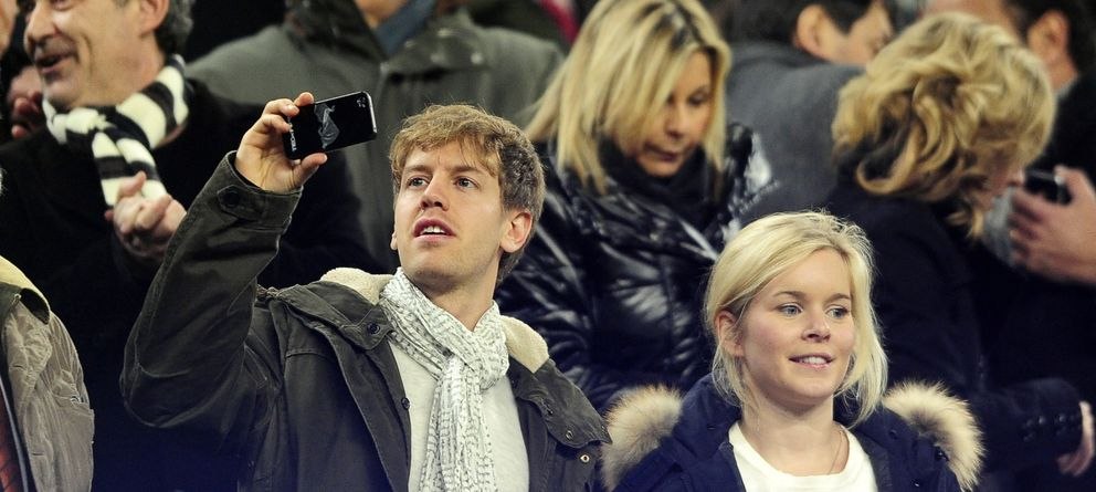 Sebastian Vettel, padre de una niña antes de lo previsto
