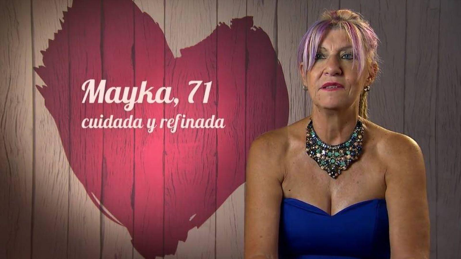 """Abuelas Maduras la abuela más """"cañera"""" de 'first dates': """"para mantenerse"""