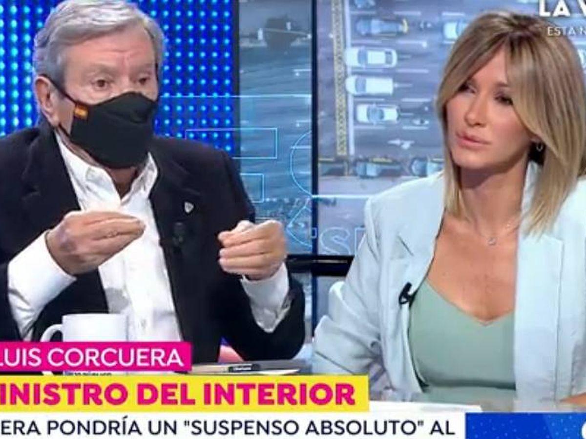Foto: Concuera, en 'Espejo público'. (Atresmedia Televisión)