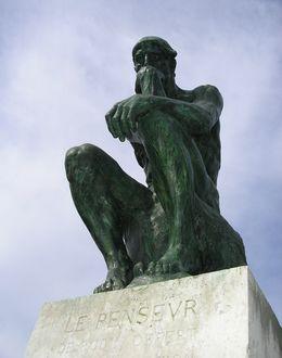 Foto: El pensador. (HombreDHojalata, Wikimedia)