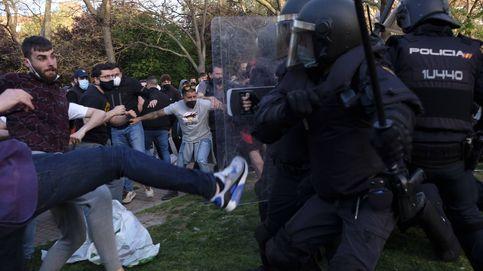 Al menos 35 heridos y 4 detenidos: balance del inicio de campaña de Vox en Vallecas
