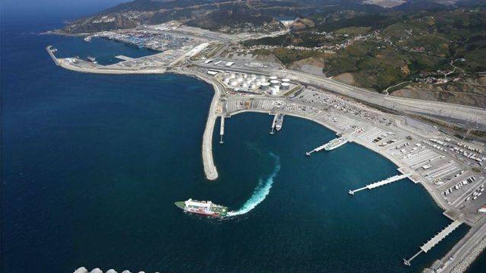 Foto: Una de las terminales de contenedores del puerto de Tánger. (AIVP)