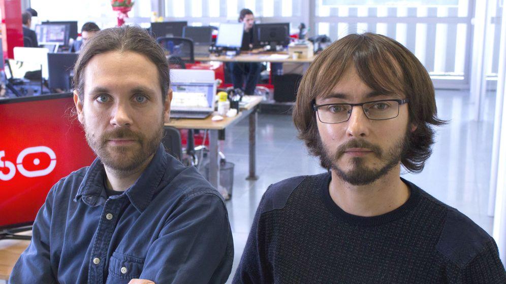 Foto: Andreu Caritg (izquierda) y Oriol Solé, co-fundadores de Series.ly