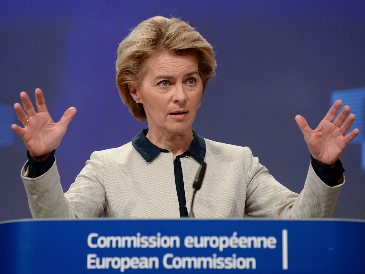 Foto: Ursula von der Leyen, presidenta de la Comisión Europea. (Reuters)