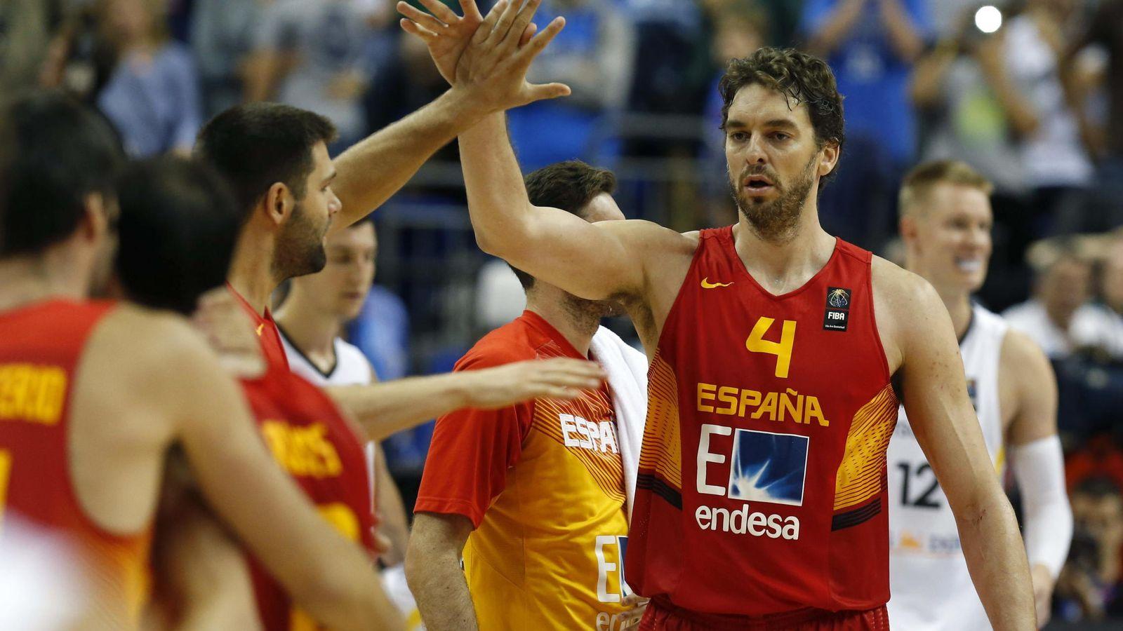Foto: España se juega el martes el pase a cuartos (Efe).
