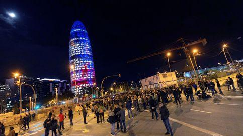Restablecida la circulación en los accesos a Barcelona tras cortes de CDR
