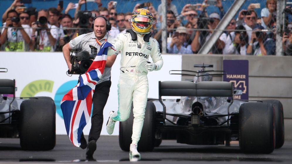 Foto: Mercedes ha sido, con Hamilton y Rosberg, la única campeona de la actual era turbo de la F1. (Reuters)