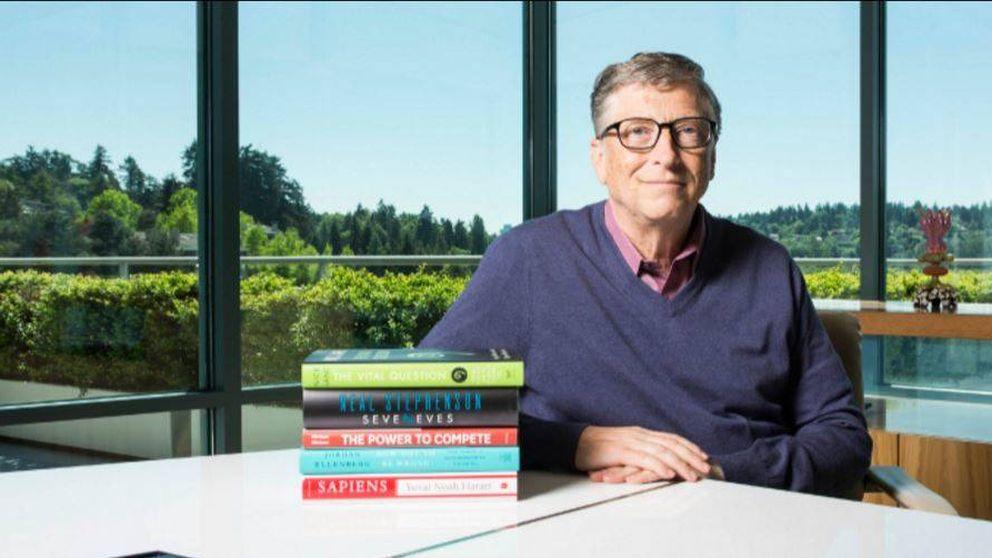 Los cinco libros que deberías leer este verano, según  Bill Gates