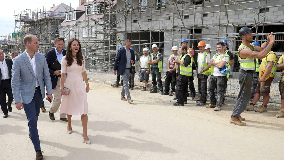 El sexy obrero que se ha hecho famoso tras lanzarle piropos a Kate Middleton