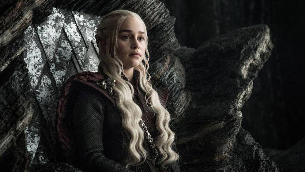 Foto: Daenerys Targaryen en 'Juego de tronos'. (HBO)