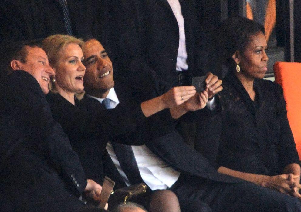 Foto: Selfie que protagonizó Barack Obama en el funeral de Mandela
