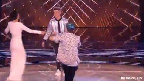Así irrumpió el nuevo Jimmy Jump en la final de 'The Voice UK'