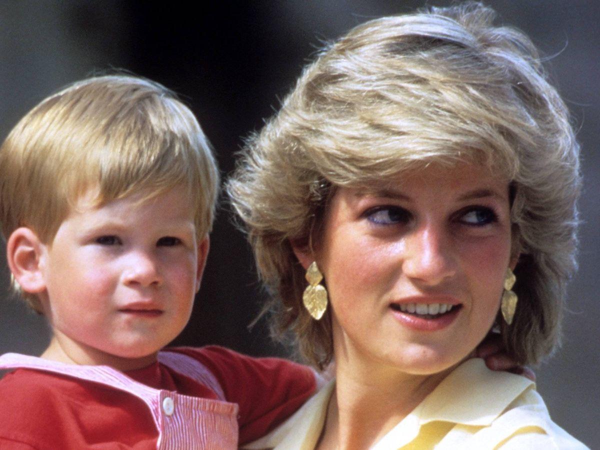Foto: Diana y Harry. (Cordon Press)