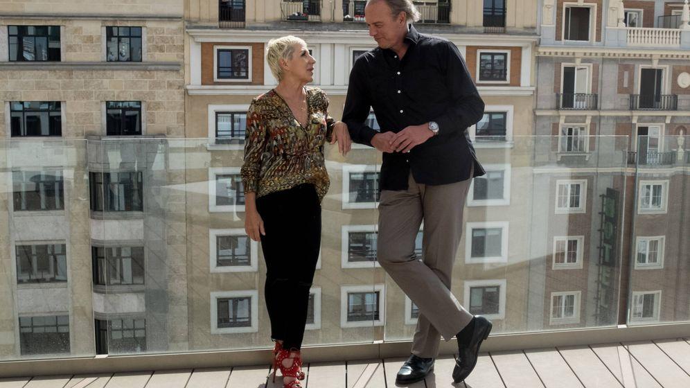 Foto: Ana Torroja y Bertín Osborne en 'Mi casa es la tuya'. (Mediaset España)
