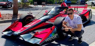 Post de El debut de Alex Palou en los óvalos que ni el mismo Fernando Alonso hubiera querido