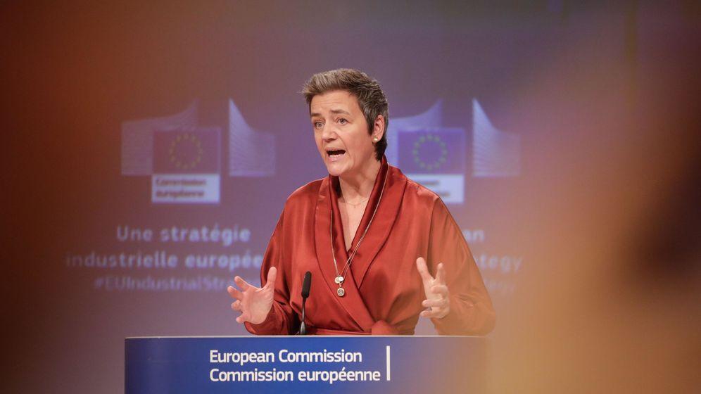 Foto: Margrethe Vestager, vicepresidenta ejecutiva de la Comisión Europea. (Reuters)