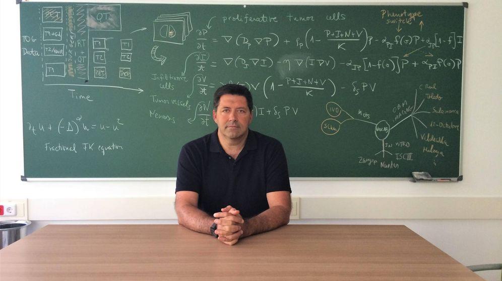 Foto:  Víctor Manuel Pérez García, catedrático y director del Instituto de Matemática Aplicada a la Ciencia y la Ingeniería de la UCLM (P.R)
