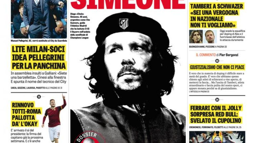 Italia se rinde al 'Comandante Simeone': El cholismo y la revolución contra el tiki-taka