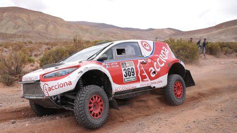 El ACCIONA 100% EcoPowered, primer coche eléctrico que termina el Dakar