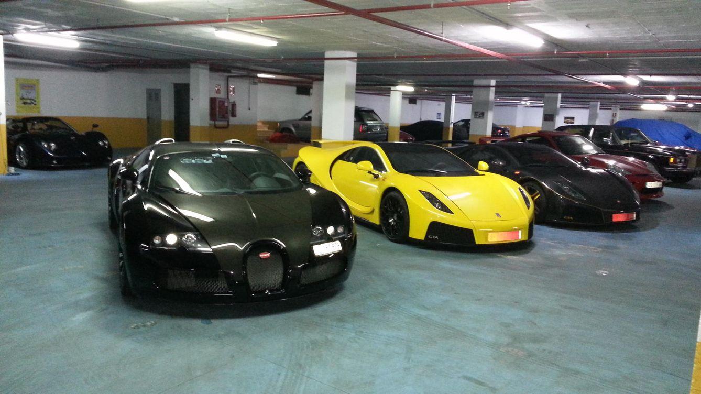 Ferrari los coches que supergarage custodia durante el for Garajes para carros