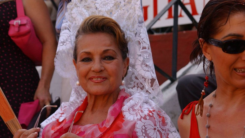 Foto: Carmen Sevilla en una imagen de archivo. (Cordon Press)