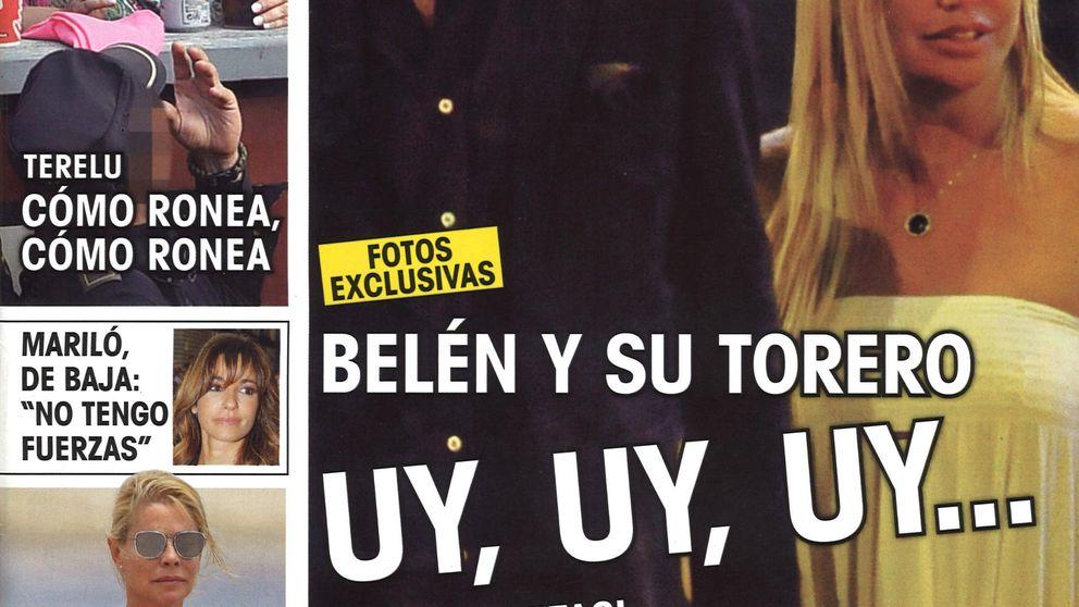 Las revistas de los lunes: Belén Esteban hace manitas con Israel Lancho