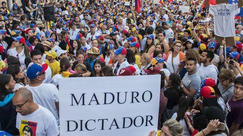 Protestas en Miami contra el gobierno de Maduro