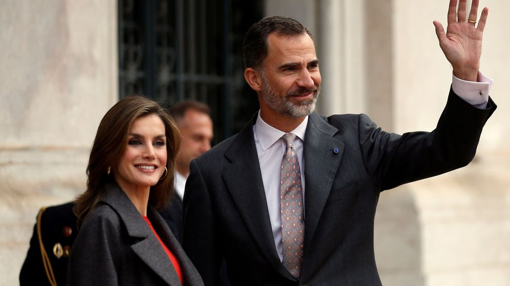 Foto: Los Reyes en una imagen de archivo (Reuters)