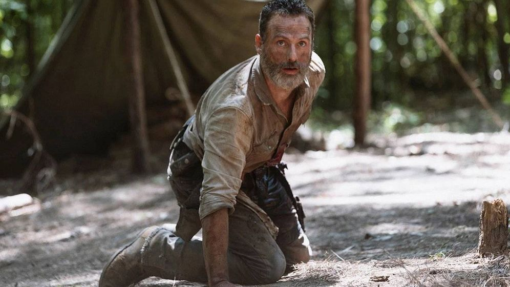 Foto: Andrew Lincoln en 'The Walking Dead'. (AMC)