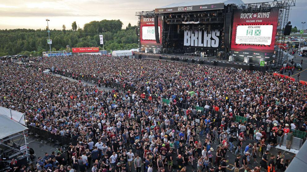 Reanudan el festival rock en Alemania tras suspenderlo por alarma terrorista