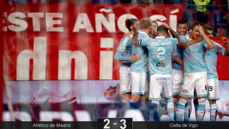 Foto: El Celta echa de la Copa al Atlético de Madrid. (EFE)