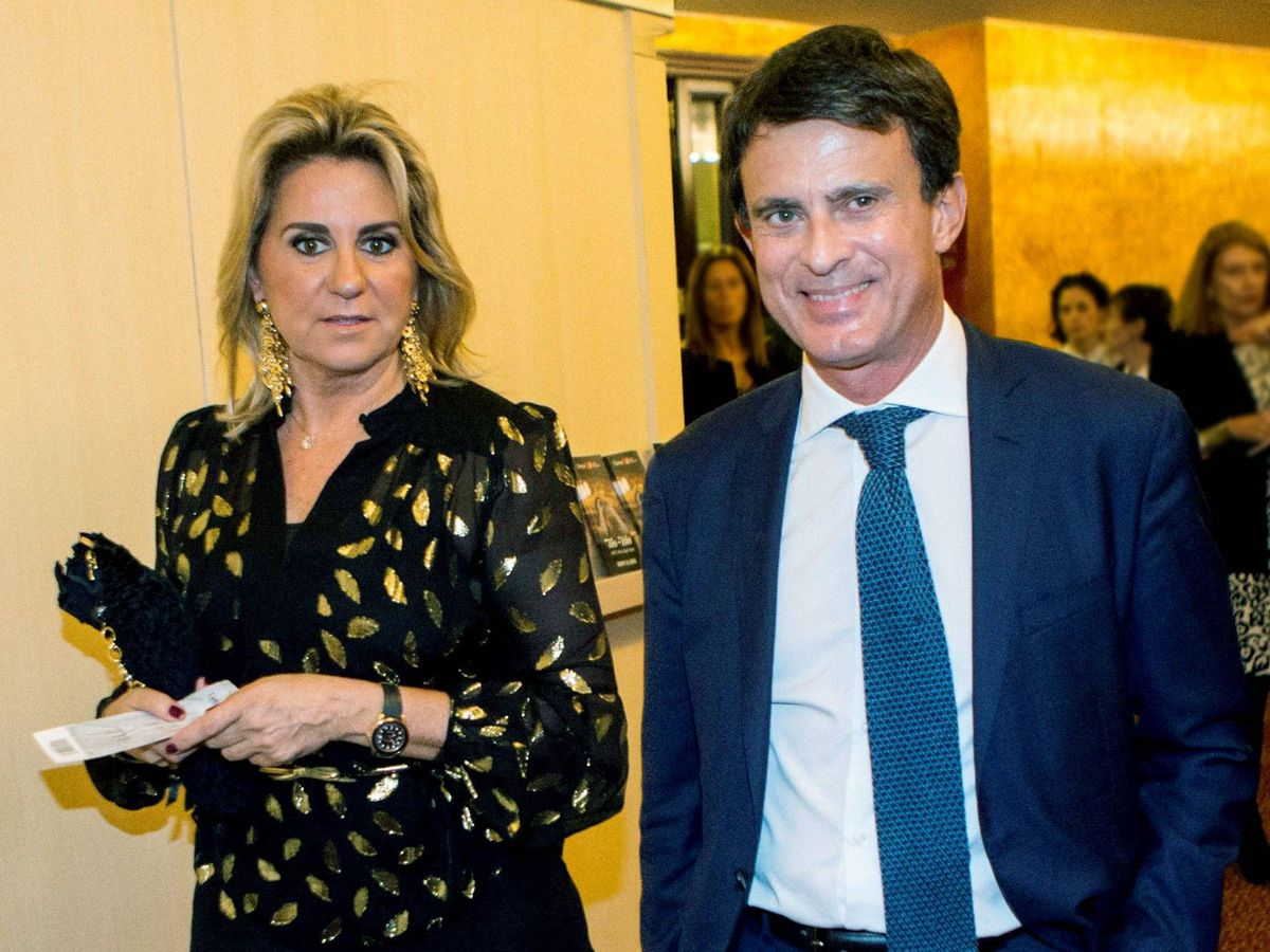 Foto: Susana Gallardo y Manuel Valls. (EFE)