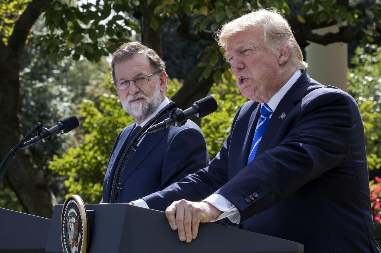 Foto: Rajoy y Trump se citan en Washington para reforzar relaciones