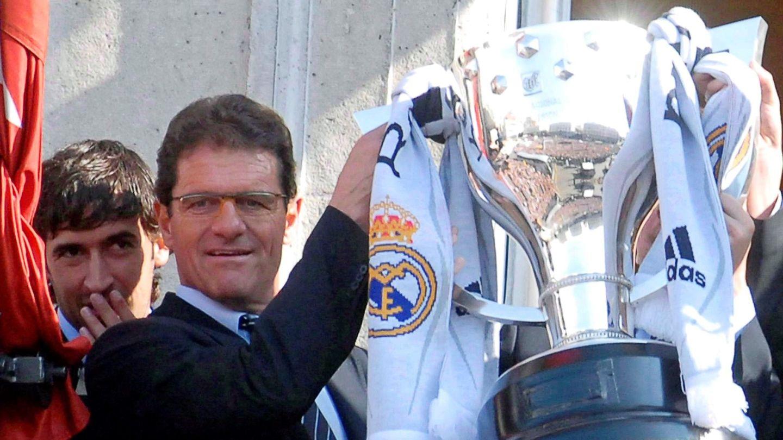 Capello, en su etapa en el Madrid. (EFE)