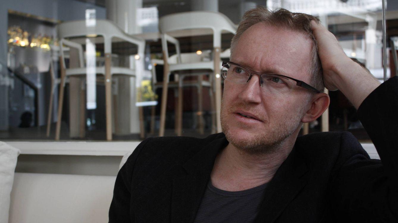 Foto: Van Reybrouck, presidente del PEN de Flandes. (Fotografía: Héctor G. Barnés)