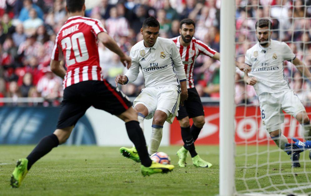 Foto: Imagen del Athletic-Real Madrid de la pasada temporada. (EFE)