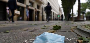 Post de Roma multará con hasta 500 euros a quienes tiren mascarillas o guantes al suelo