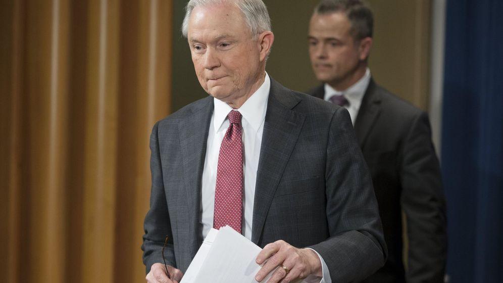 Foto: El fiscal general de Estados Unidos, Jeff Sessions. (EFE)