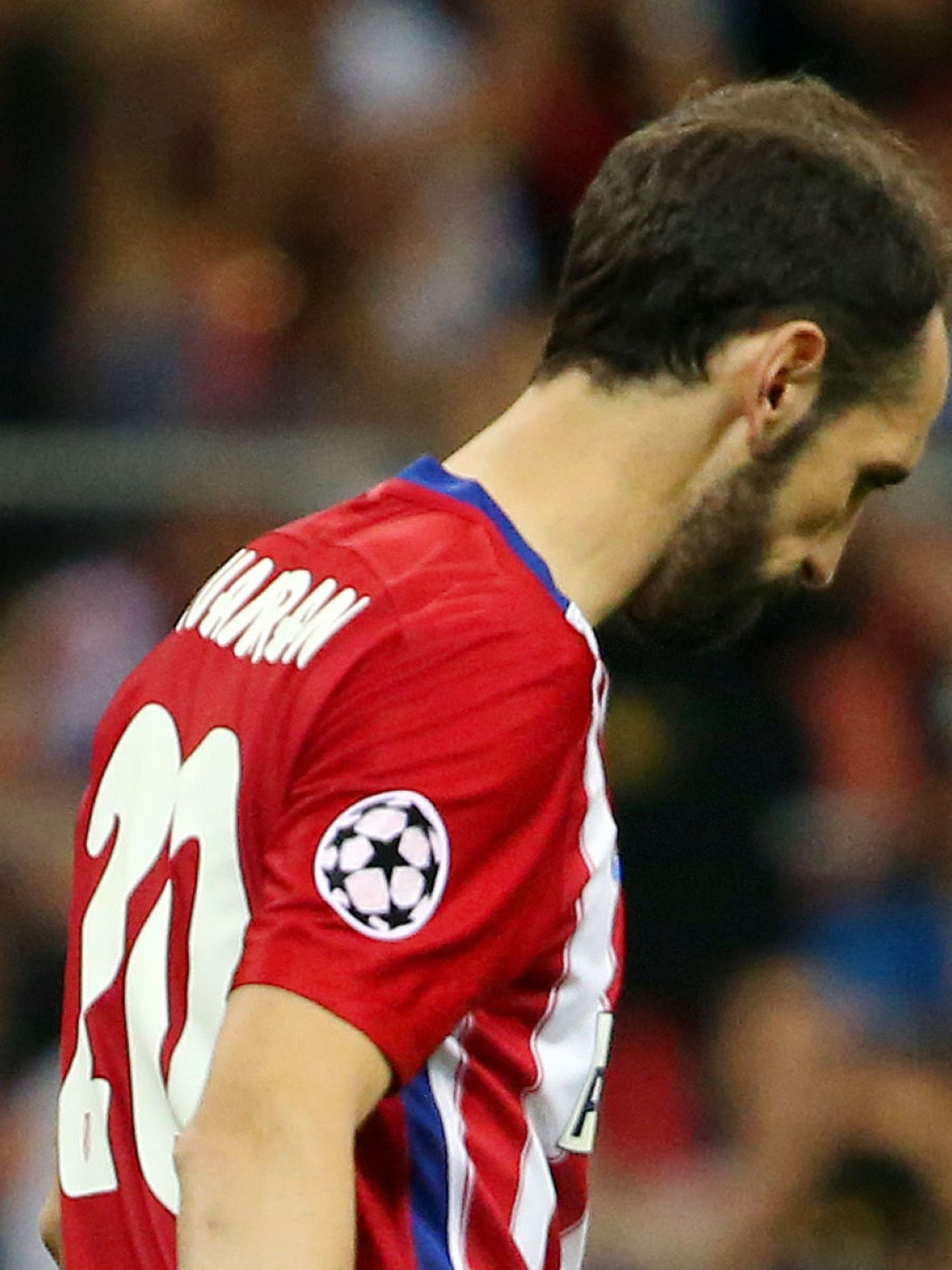 Soccer Football - Atletico Madrid v Real Madrid - UEFA Champions League Final - San Siro Stadium, Milan, Italy - 28 5 16 Atletico Madrid's Juanfran looks dejected after missing during the penalty shootout Reuters   Stefano Rellandini Livepic EDITORIAL USE ONLY.