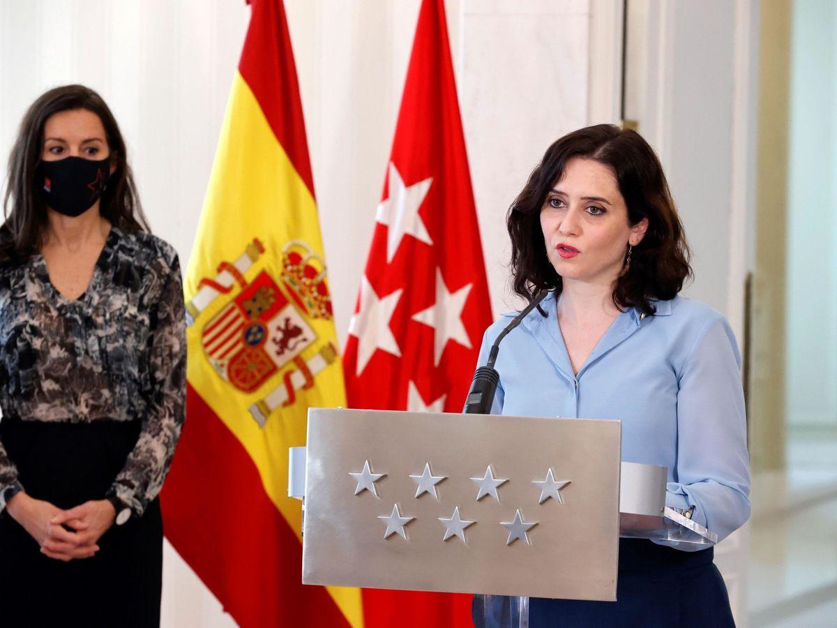 Foto: Ayuso convoca elecciones en la Comunidad de Madrid el 4 de mayo. (EFE)