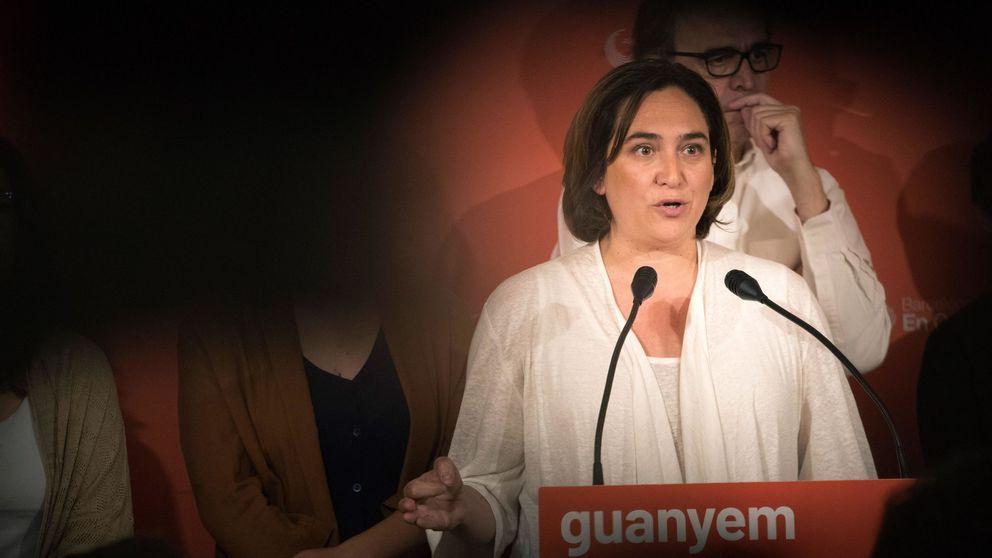 Barcelona en Comú denuncia ataques a su sede con pintura amarilla