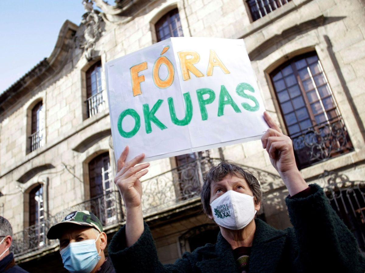 Foto: Manifestación contra la ocupación