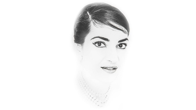 Foto: Retrato de Maria Callas en 1958.